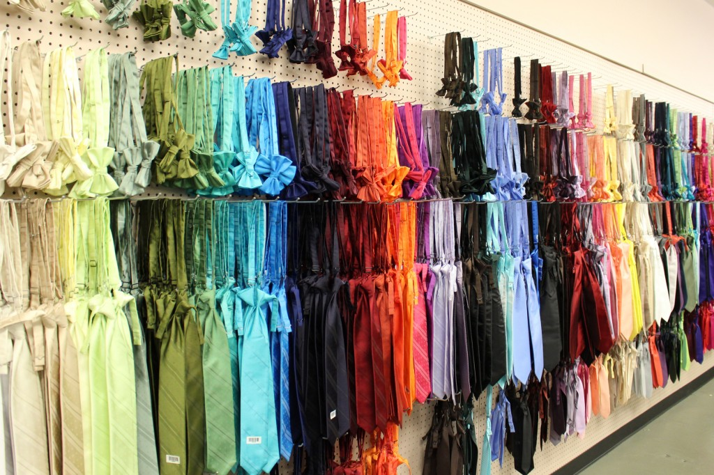 Ties assortment
